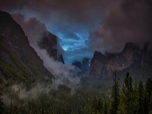 Night in Yosemite National Park