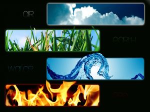 Image of the four elements